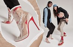 """c02446316cd Christian Louboutin on Instagram  """"With kraft paper from   ChristianLouboutin s iconic shopping bags torn by hand and encapsulated in  PVC"""