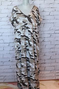 Maybe You Literally Camo-Even maxidress Salt And Light, Pyjamas, Pretty Dresses, Compliments, Camo, Blouse, Tops, Women, Style