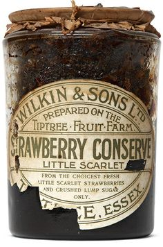 Eye 87 - The labels for Tiptree jams have almost stayed the same since 1890.