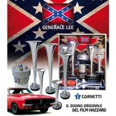 CLACSON originale Generale Lee, 5 trombette. #GeneraleLee #Clacson #Tromba #Auto