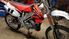 MY HONDA CR250R MOTOCROSS BIKE