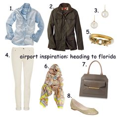 Baubles and Cocktails: Airport Outfit Inspiration...