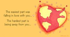 Long Distance Relationship Quotes, Messages, Sayings and Songs - Pink Lover Long Distance Love Quotes, Long Distance Relationship Quotes, Distance Relationships, Better Relationship, Military Love, Army Love, Distant Love, Military Relationships, Favim