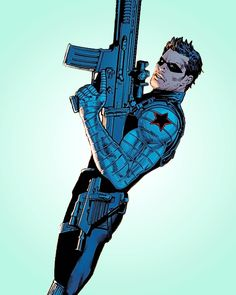 Bucky Barnes in All-New Invaders - one step closer to winter. Comic Book Characters, Marvel Characters, Comic Character, Comic Books Art, Comic Art, Avengers Comics, Marvel Memes, Steve Rogers, Bucky Barnes Captain America