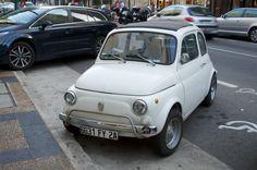 Fiat 500, in Ajaccio.