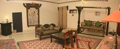 Royal Suites - Deogarh Mahal - Luxury Heritage Hotel in Rajasthan 245 Heritage Hotel, Mansion Interior, Loft, Mansions, Luxury, Bed, Furniture, Home Decor, Travel
