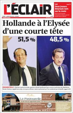 Portadas prensa francesa del 7 de mayo – Elecciones francesas