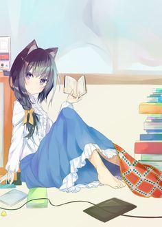 Cute catgirl [Original] : awwnime
