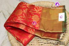 Exclusive bridal Kanchi Patu sarees from Kushi Designers