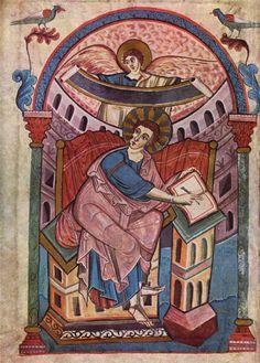 рукопись аббатиса.гармоничная свободная живопись, умеренно-декоративная с хор вкусом.
