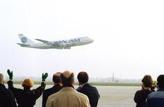 Last revenue flight from FRA departing 1 Nov 1991. Clipper Voyager.