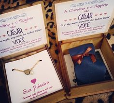Entrega da semana Caixinhas Rústicas  para os  Padrinhos da Carolina e Rogerio #casamento #conv - kiriartcasamento