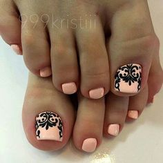 pedicure oslo 5 best photos – Beauty & Seem Beautiful Pedicure Designs, Pedicure Nail Art, Toe Nail Designs, Manicure And Pedicure, Pretty Toe Nails, Cute Toe Nails, Love Nails, Nagellack Trends, Feet Nails
