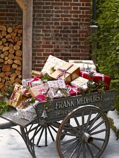 Deck the halls - celebrate the gift of giving this #Christmas with #johnlewis
