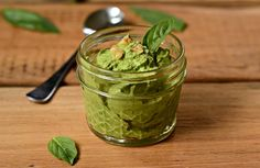 This recipe shares my tip about how to make pesto that stays bright green for several days. It's an easy recipe to make with fresh summer basil.