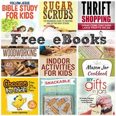 FREE EBOOKS: Indoor Activities For Kids, Slow Cooker Recipes + More!