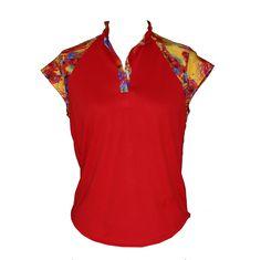 Lady Golfwear - Tropical Cap Sleeve Golf Shirt, $40.00 (http://www.ladygolfwear.com.au/tropical-cap-sleeve-golf-shirt/)