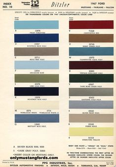 1966mustangcolorcodes 1966 mustang paint colors codes paint for my baby when i get her candy apple redwhite trim fandeluxe Images