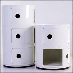 Kartell 4967 Componibili Round Tower - Three Doors Color: White by Kartell, http://www.amazon.com/dp/B001JJIBOS/ref=cm_sw_r_pi_dp_vEi-qb18F7T6M