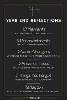 New Years Resolution : QUOTATION – Image : Quotes Of the day – Description What are your Year End Reflections? Take some dedicated time before New Year's Eve to sit down and think about these things. Sharing is Power – Don't forget to share this quote !