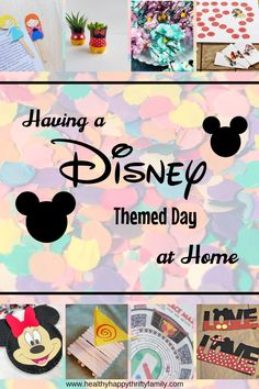 Having a Disney Themed Day at Home with the Kids – Healthy Happy Thrifty Family – kids baking ideas Disney Home, Disney Diy, Disney Crafts For Kids, Disney Trips, Kids Crafts, Disney Family, Disney Games For Kids, Funny Disney, Family Family