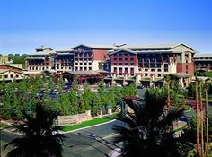 Grand Californian at Disneyland.  If you can afford it (I can't), do it!