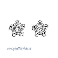 Orecchini Punto Luce in oro bianco e diamanti Comete Gioielli ORB 446  http://www.gioiellivarlotta.it/product.php?id_product=706