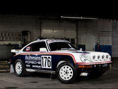 Learn more about Now with Porsche 953 Rothmans Rally Tribute on Bring a Trailer, the home of the best vintage and classic cars online. 2006 Porsche 911, Porsche Cars, Automobile, Dream Car Garage, Classic Cars Online, Rally Car, Carrera, Race Cars, Dream Cars