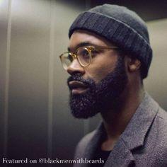 """@caligraphist #blackmenwithbeards #melanin #blackmen #blackman #black…"