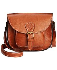 Patricia Nash Argos Crossbody Saddle Bag - Handbags & Accessories - Macy's