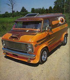 "'78 Chevy ""Shorty"" Van."