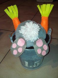 konijn in pot