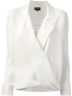 Giorgio Armani wrap blouse