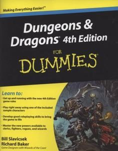 Dungeons and Dragons for Dummies by Bill Slavicsek and Richard Baker 2008 0470292903   eBay SOLD