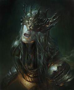 Dark Souls 3 - Lorian,Elder Prince, suebsin pulsiri on ArtStation at https://www.artstation.com/artwork/lNkQo