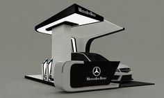 Mercedes-Benz New C-Class Booth on Behance