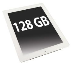 Apple unveils new 128GB iPad.Availability will be from 5th Feb.