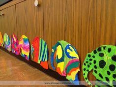 KLASSENKUNST: Elmar-Tag Classroom Art Projects, Classroom Decor, Elmer The Elephants, 3rd Grade Art, Art School, 3rd Birthday, Art Lessons, Art For Kids, Barn