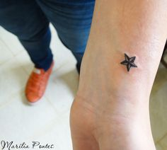 Really want a small nautical star like this on my foot...