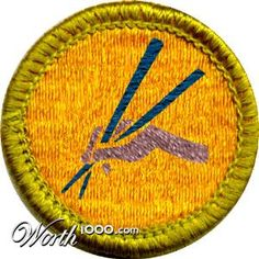 Chopstick Master - Real Life Merit Badge