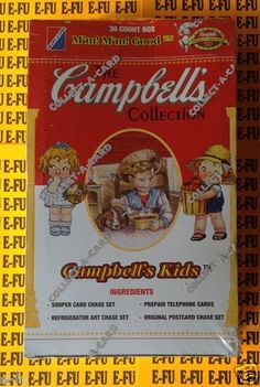 f314c24a14 1995 Campbell s Collection Campbell Soup Kids Trading Cards Campbell Soup  Company