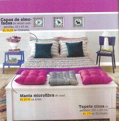 A edição 28 da revista Decore Sua Casa traz uma produção linda com o Baú Parma, a Escada Legno e a cabeceira de cama Riviera da MMM. http://www.meumoveldemadeira.com.br/produto/bau-parma-branco-lavado http://www.meumoveldemadeira.com.br/produto/escada-legno-azul-clein http://www.meumoveldemadeira.com.br/produto/cabeceira-para-cama-box-de-casal-riviera-branco-laqueado