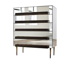 Buy ILLUSION DRESSER BY LUIS PONS by FERRER - Made-to-Order designer Furniture from Dering Hall's collection of Mid-Century / Modern Dressers