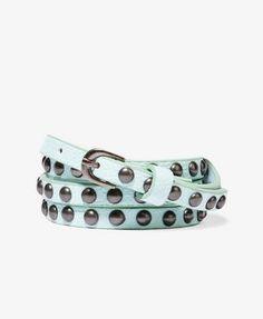 Studded Skinny Belt   FOREVER21 - 2026290025