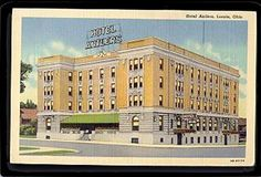 Hotel Antlers, Lorain, Ohio Beautiful Park, Beautiful Sites, Amherst Ohio, Lorain Ohio, The Buckeye State, Vintage Hotels, Local History, Old Buildings, Heartland