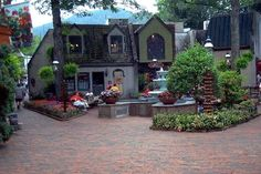 The Village in Gatlinburg.  - Cute little shopping area.