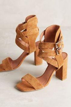 Jeffrey Campbell Eudora Heels Honey 6.5 Heels