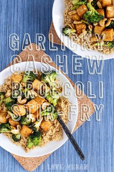Garlicky Cashew Broc