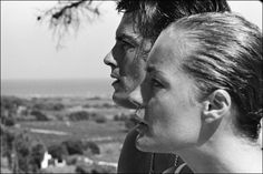 Romy Schneider(with Alain Delon)    © Jean-Pierre Bonnotte