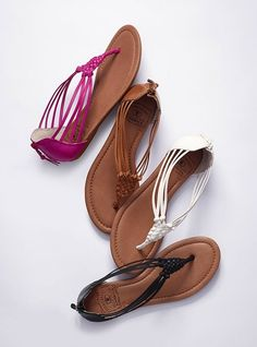 My new summer sandals, in brown